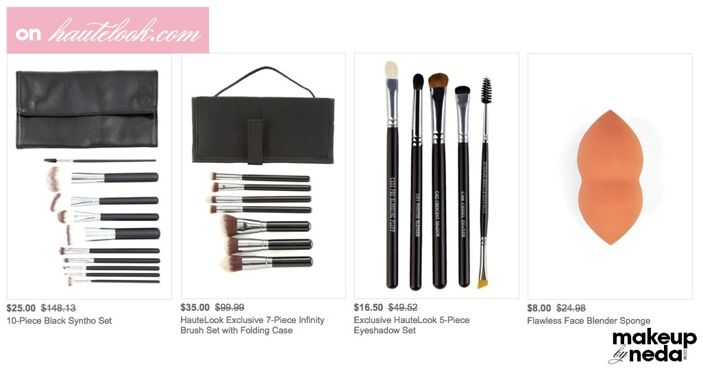 Crown Brush sale on Hautelook for the weekend! | makeup by neda