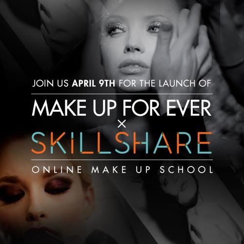 Make Up For Ever launches online makeup school – with free