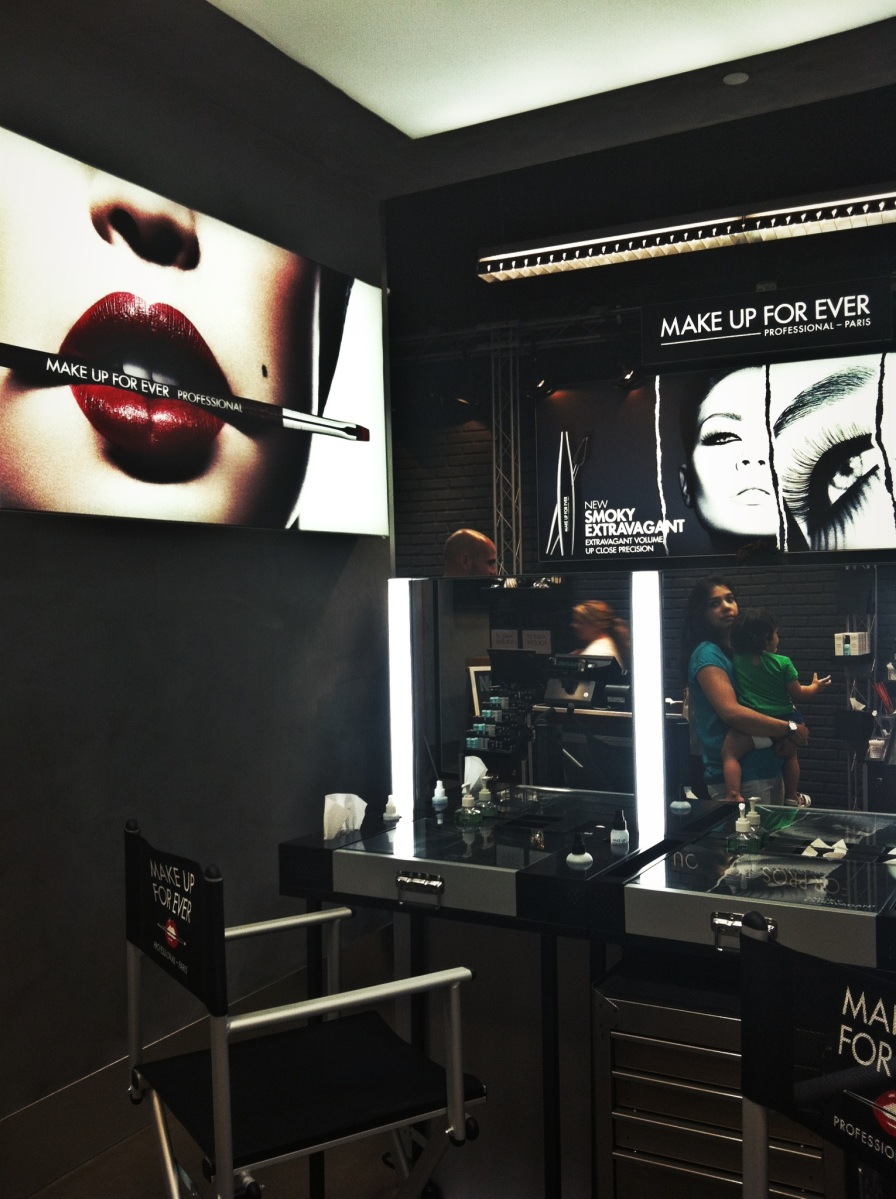 Make Up For Ever grand opening at the Garden State Plaza, NJ
