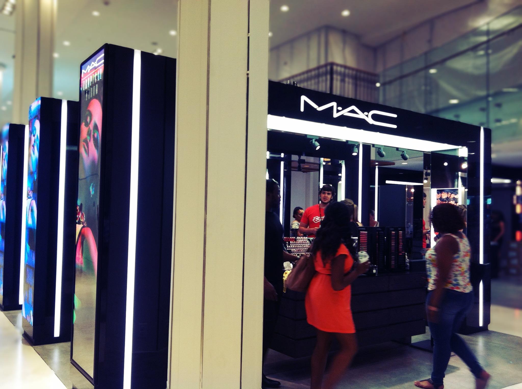 Macys makeup department