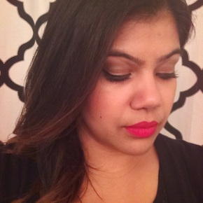 Red Lips for the Holidays Look #2